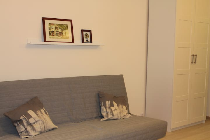Studio-flat near subway station - Murino - Apartment