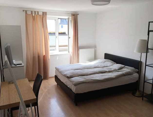 Spacious & quiet room next to the city center&more - Mnichov - Byt
