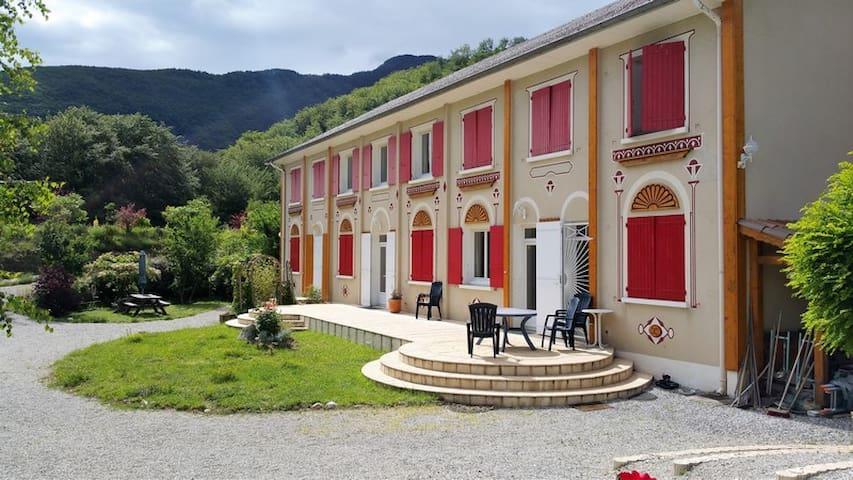 Gîte rural (3 épis) - Environnement exceptionnel - Montmaur - Huoneisto