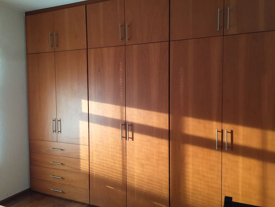 A lot of space for storage your belongings