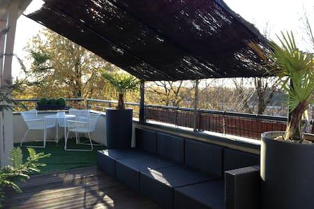 La petite Bastide Appart/Terrasse - Tignieu-Jameyzieu - Wohnung