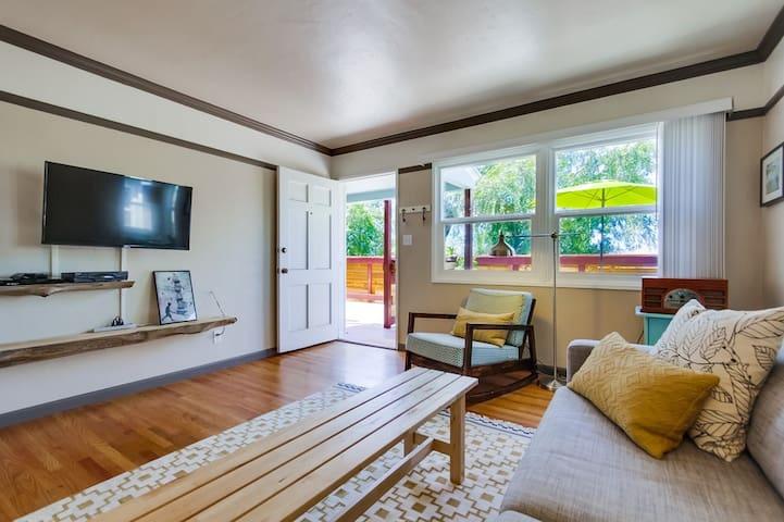 Treetop Flat in Central San Diego - San Diego - Apartamento