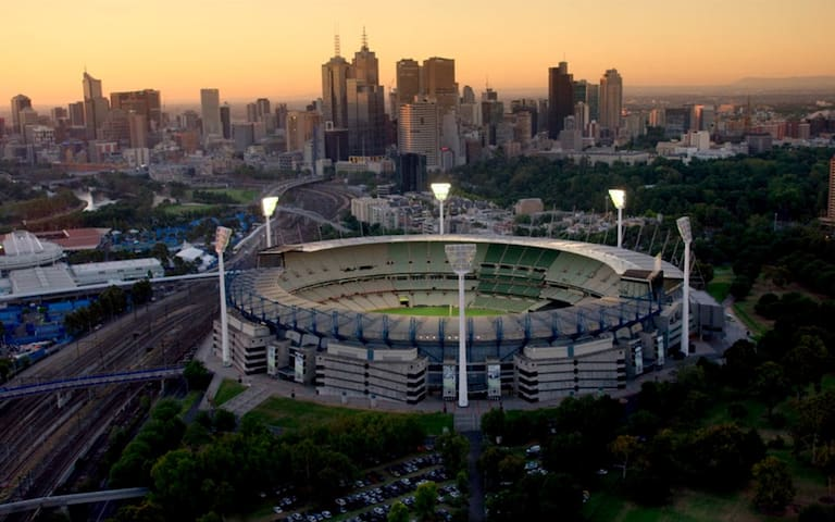 Melbourne Cricket Ground (MCG)- Australia's holy grail of sporting stadiums.