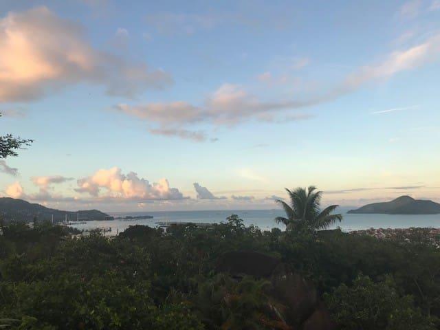 Seychelles Stadium and Port Views