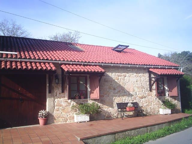 casa de campo cerca de la playa,,,, - Boiro - Haus