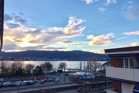 Best city area with amazing lake/mountain-view ! - Zürich - Apartmen