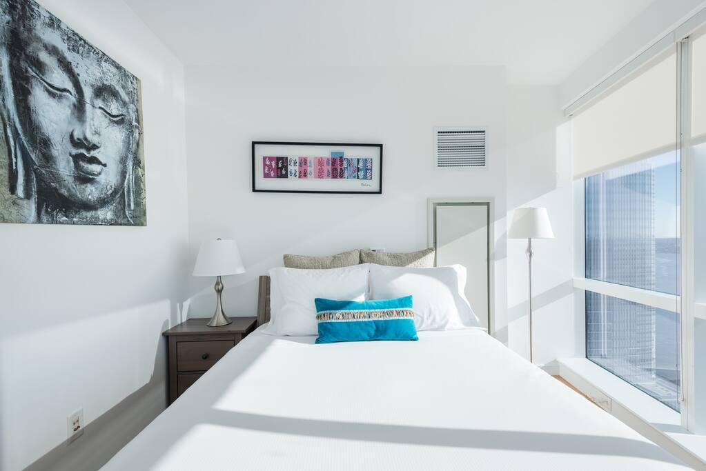 Standard One Bedroom Apartment Sleeping Area