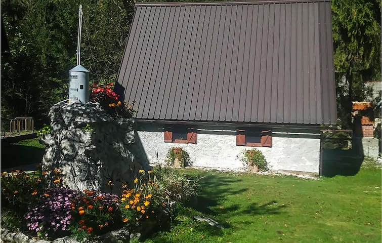 Holiday cottage with 1 bedroom on 45m² in Soca