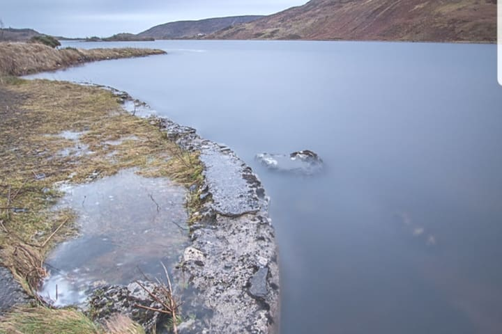 Lough Talt...walking trail of 6.5 km circuit winding around  the lake. Fishing of Brown trout and Cray fish