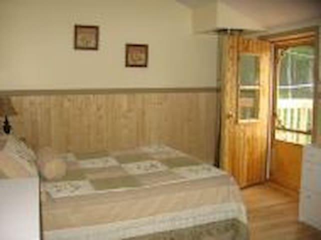 Chambre à  coucher avec balcon(1)