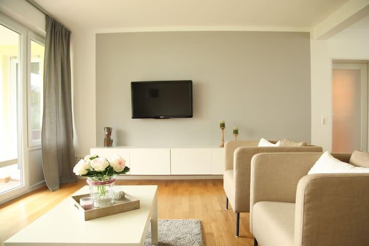 Familienfreundliches Appartement für max. 5 Gäste - Ulm - Apartament