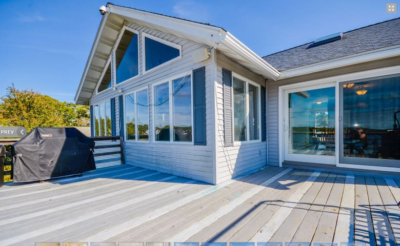 Waterfront Home located near Newport/Boston/Onset