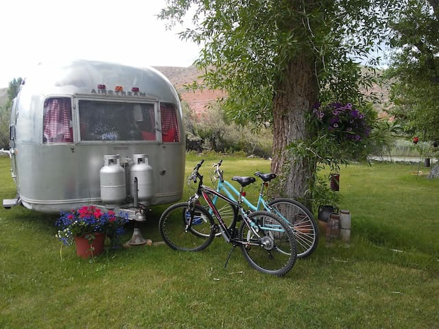 Glamping On The Wind River- An Airstream Adventure