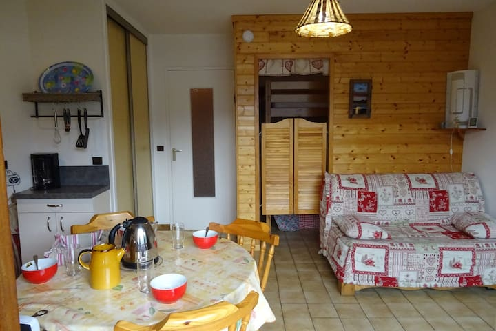 Cosy studio for 4 persons in Bourg Saint Maurice center
