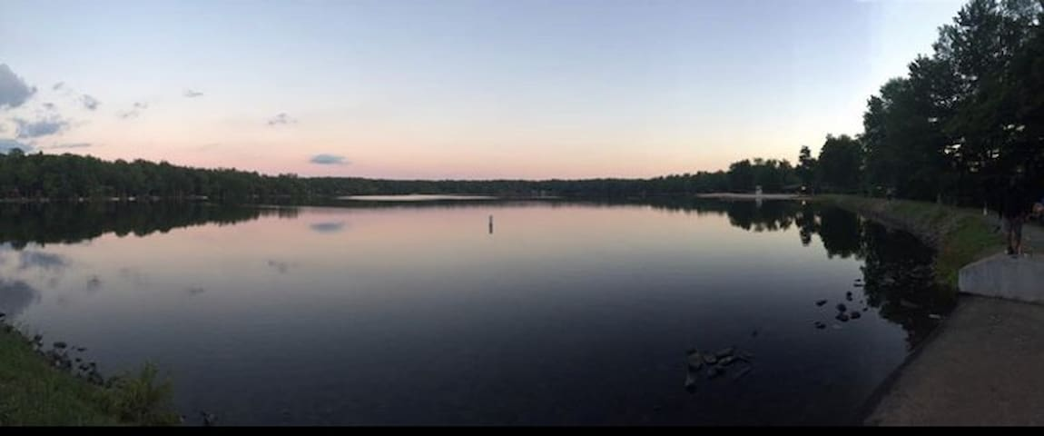 Poconos home away frm home @Eagle Lake