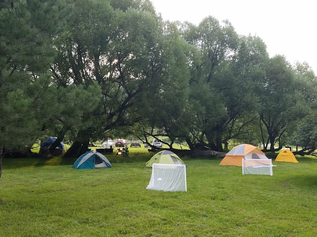 Plenty Star Ranch - Tent Site for 1 or 2 - No 1