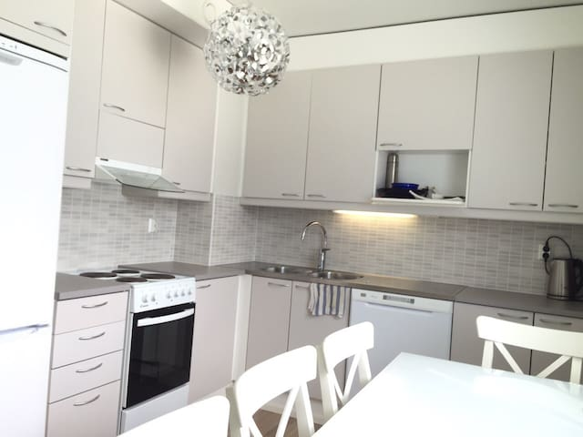60m2 Family/Business Terrace Apartment in Espoo