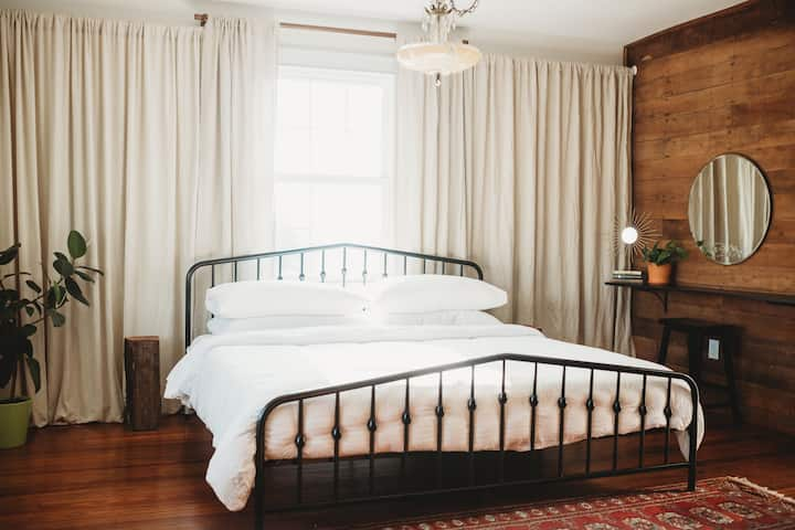 Farmhouse on the Hill - Master Bedroom