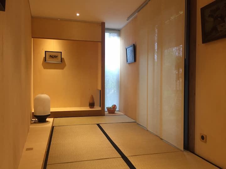 Dormir à la japonaise en washitsu! Futon et tatami