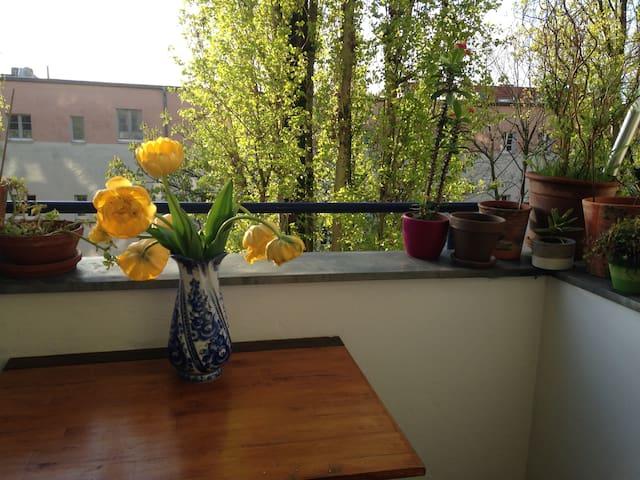 Lovely and quiet Get-away, conveniently located - Berlin - Apartemen