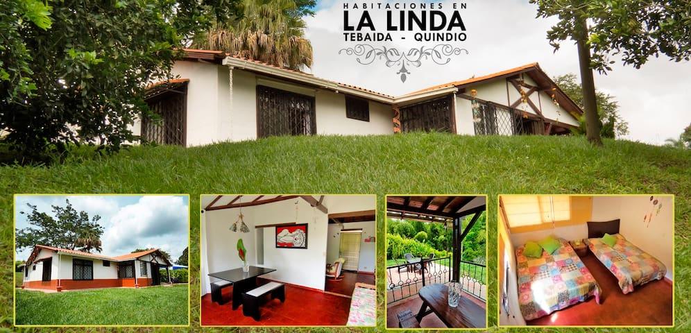 Casa Campestre LA LINDA - La Tebaida - Huis
