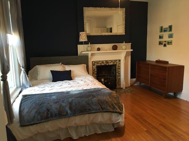 Cozy master bedroom suite