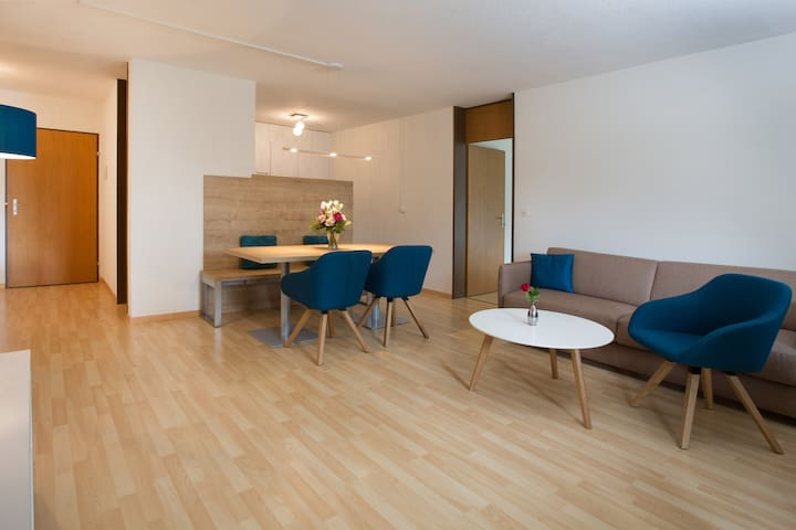 3 Zimmer Ferienwohnung 'l'aua' - Disentis/Mustér - Appartement