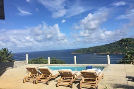 Breezy Bluff private villa with majestic views - Marigot - Villa