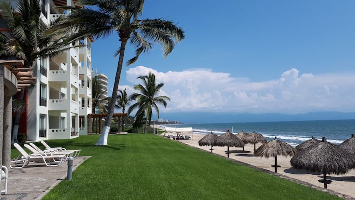 Súper departamento a pie de playa, Nuevo Vallarta