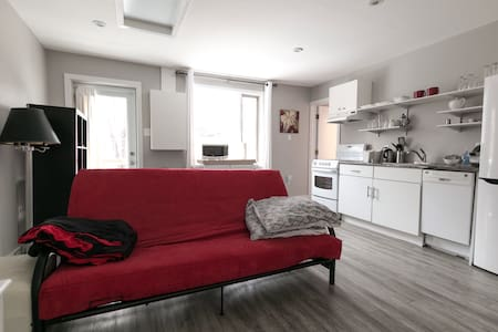 Modern, family-friendly 1 Bd Apt Churchill Sq area - St. John's - Apartemen