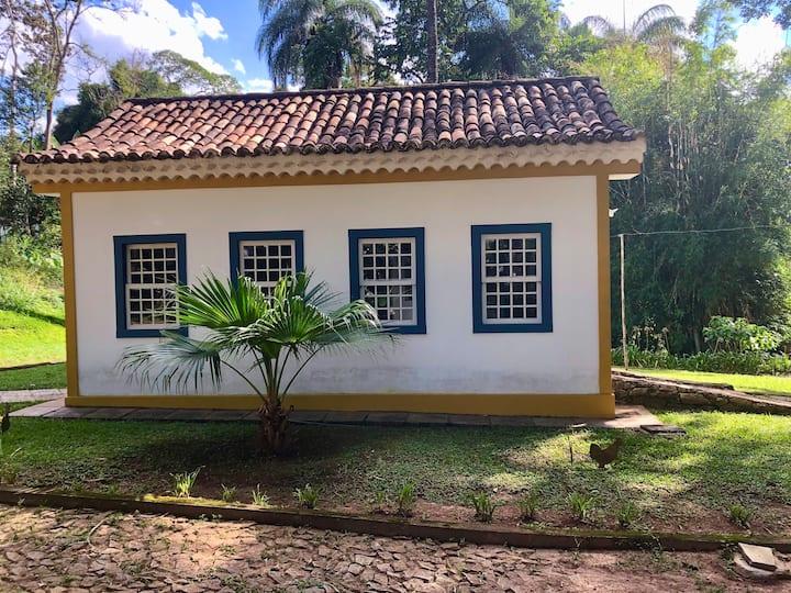 Casa Jasmin no Centro Histórico de Tiradentes