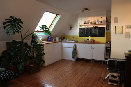 Bright appartment on top floor - Forest - Wohnung