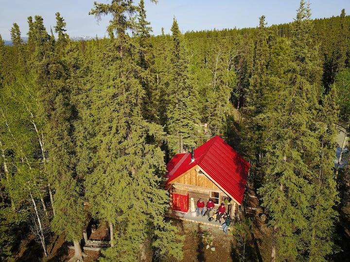 Rustic & Cozy Log Cabin