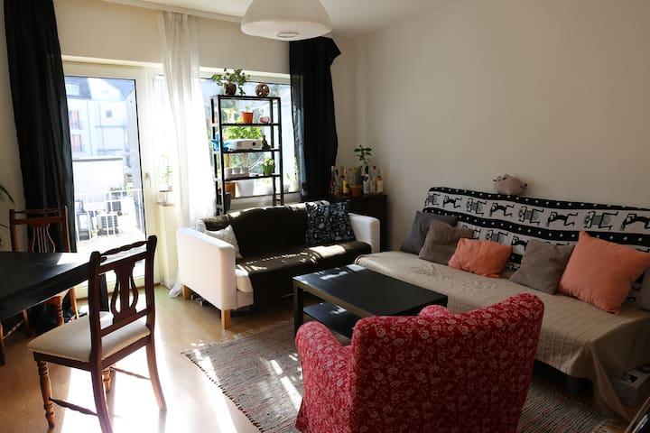 Ruhige Wohnung mit Südbalkon | nahe Rhein & Messe - Colônia - Apartamento
