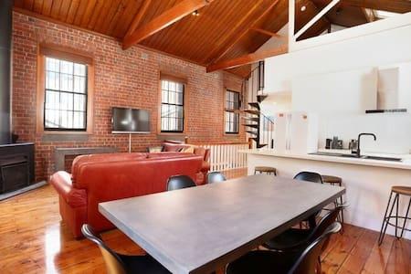 Beautiful 2.5 Bedroom Loft in Melbourne's CBD - Melbourne - Apartamento