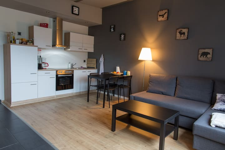 Sunny Street apartment in KEF. Near INTL. Airport