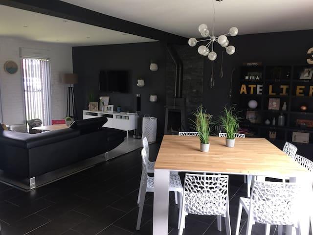 Maison style loft - Loos-en-Gohelle - Rumah bandar