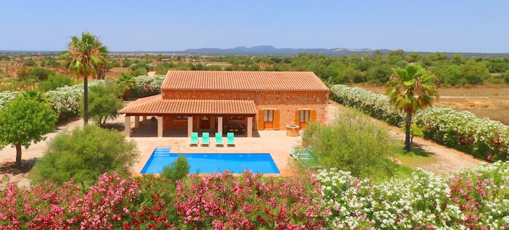 Sa Vinya, private pool, wifi free