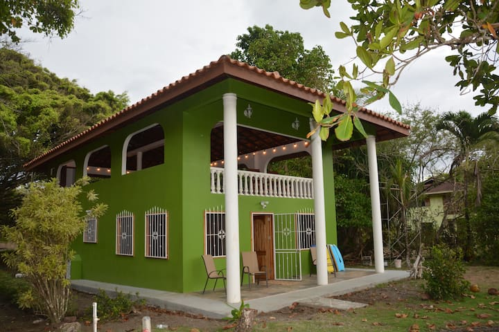 Casa Verde~Oceanfront Zancudo 2nd floor open air!