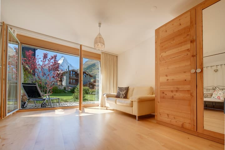 Zermatt 1 Bedroom Apartment with Matterhorn Views