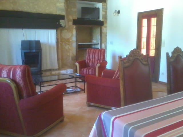 Vacances en Périgord entre Lot & Dordogne - Le Roc - Apartment