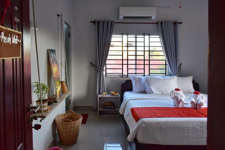 Preah Wat - Welcome to the room