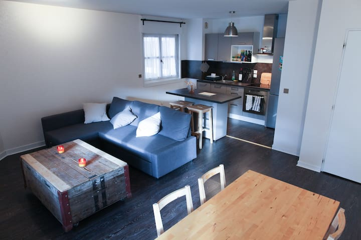 Appartement T2 centre ville proche genève