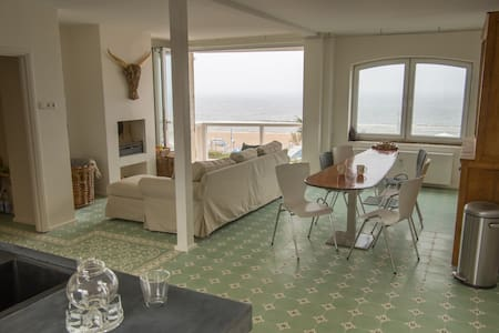''TILES AND WAVES'' LUXE SEA VIEW APARTMENT - Zandvoort - Apartament