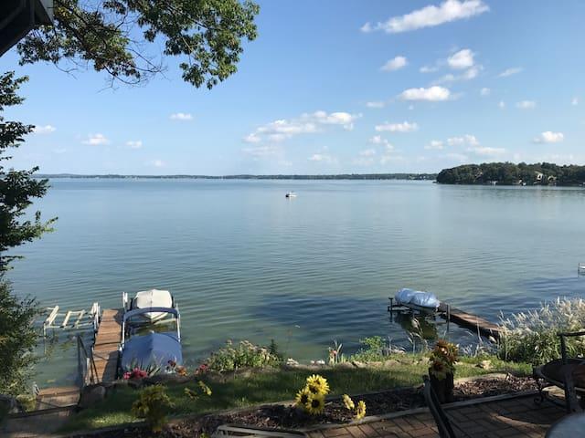 Waterfront home on Lake Kegonsa.