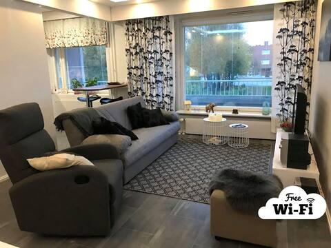 Piiteli apartment (Free WiFi) kaksio keskustassa