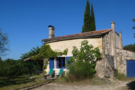 Lovely French stonehouse, very private with view - Le Poët-Laval - House