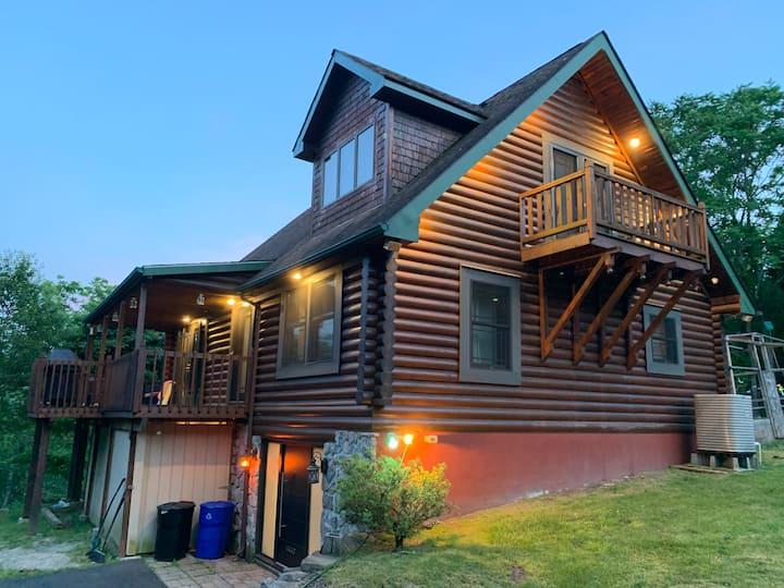 Log Cabin Luxury Getaway