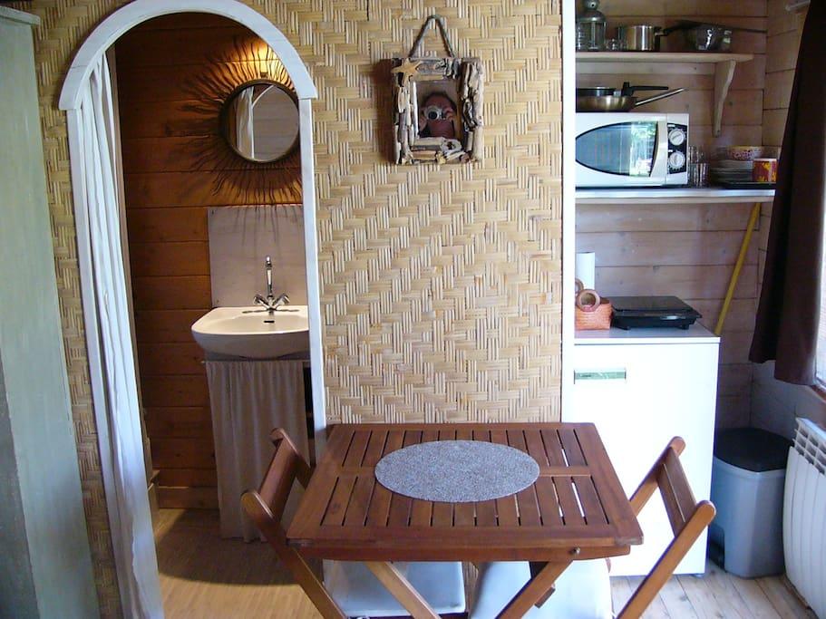 14 m², certes! mais tout le confort pour des séjours de courtes durées.