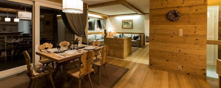 Luxurious new Chalet style 3 bedroom St. Moritz